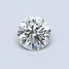 0.51 Carat Redondo Diamond Ideal J SI2