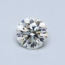 推薦鑽石 #1: 0.60 克拉圓形切割鑽石