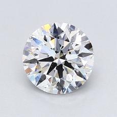1.00-Carat Round Diamond Ideal D SI1