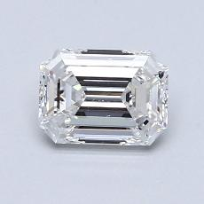 Recommended Stone #1: 0,93-Carat Emerald Cut