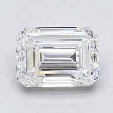 Pierre recommandée n°3: 2,34 Carat Emerald Cut