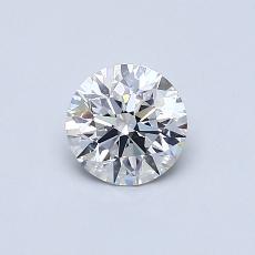 0.53 Carat 圓形 Diamond 理想 G VS2