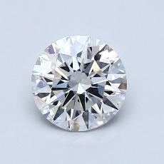 1,00 Carat Rond Diamond Idéale D VS1