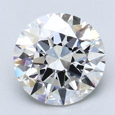 Recommended Stone #2: 2.50-Carat Round Cut