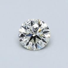 Recommended Stone #1: 0.50-Carat Round Cut Diamond