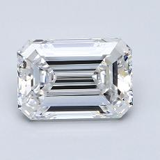 Recommended Stone #2: 1,53-Carat Emerald Cut Diamond