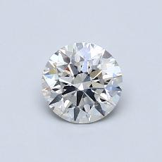 推薦鑽石 #3: 0.58 克拉圓形切割鑽石