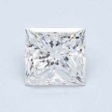 Pierre recommandée n°1: Diamant taille princesse 0,94 carat