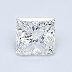 Recommended Stone #1: 0.94-Carat Princess Cut Diamond