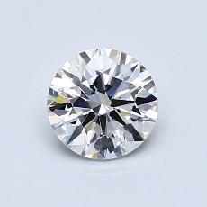 0.70 Carat 圓形 Diamond 理想 G VS1