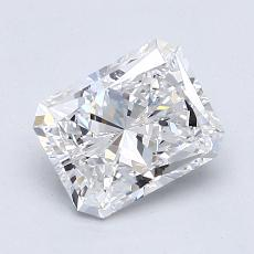 Recommended Stone #2: 1.40-Carat Radiant Cut Diamond