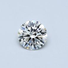 Recommended Stone #2: 0.36-Carat Round Cut Diamond