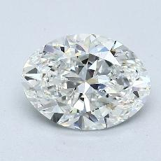 Recommended Stone #3: 1.32-Carat Oval Cut Diamond