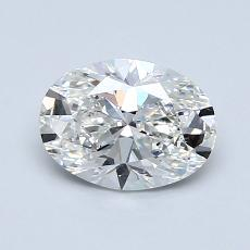 1.07-Carat Oval Diamond Very Good G VS2