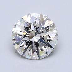 Recommended Stone #1: 1,26-Carat Round Cut Diamond