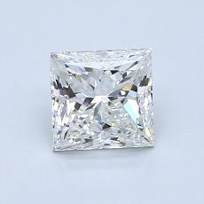 1.00-Carat Princess Diamond Very Good H VS2