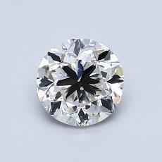 1,00-Carat Round Diamond Good I SI1