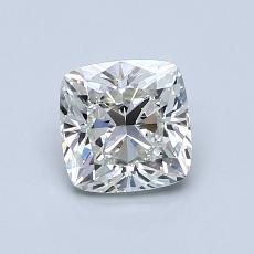 1.00-Carat Cushion Diamond Very Good I VS2
