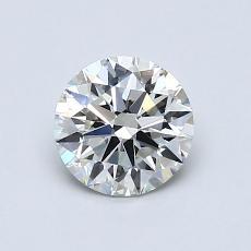 0.81 Carat 圆形 Diamond 理想 I VS2