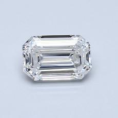 推薦鑽石 #4: 0.72  克拉綠寶石形切割鑽石