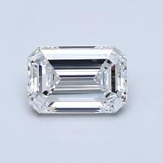 Recommended Stone #4: 0.83-Carat Emerald Cut Diamond