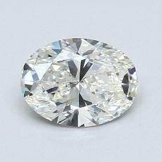 Recommended Stone #2: 1.10-Carat Oval Cut Diamond