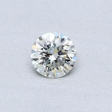 Recommended Stone #2: 0,30-Carat Round Cut