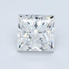1.01 Carat 公主方形 Diamond 非常好 F VVS1