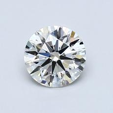 0.80 Carat 圆形 Diamond 理想 J VS1