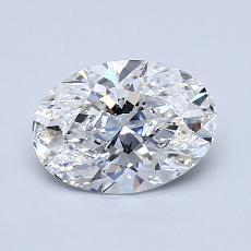 1.08-Carat Oval Diamond Very Good E VS1