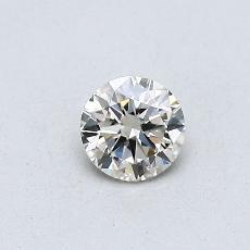 Pierre cible: Diamant taille ronde 0,30 carat