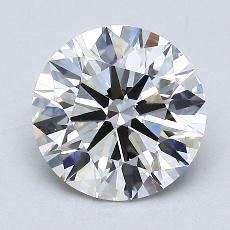 1.63-Carat Round Diamond Ideal G VVS2