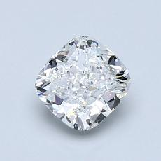 1.00 Carat 垫形 Diamond 非常好 F VVS2