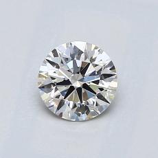 0,61-Carat Round Diamond Ideal I VS2