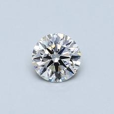 0.40 Carat 圓形 Diamond 理想 I VS2