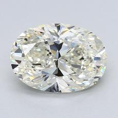 推荐宝石 3:3.34克拉椭圆形切割钻石