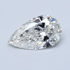 0.73 Carat 梨形 Diamond 非常好 G SI1