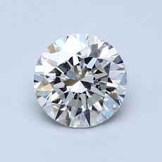 1.00 Carat 圆形 Diamond 理想 I VVS2