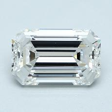 Recommended Stone #2: 1,92-Carat Emerald Cut Diamond