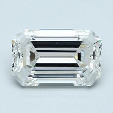 Recommended Stone #2: 1.92-Carat Emerald Cut Diamond