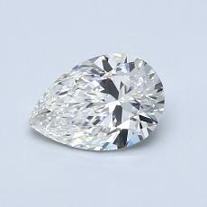 Recommended Stone #1: 0.75-Carat Pear Cut Diamond