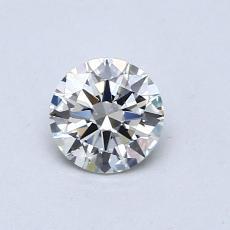0.51 Carat 圆形 Diamond 理想 J VS2