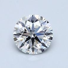 1.03 Carat 圆形 Diamond 理想 G VVS2