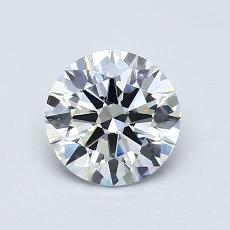 Recommended Stone #3: 0,78-Carat Round Cut Diamond