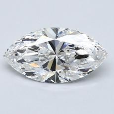 1,03-Carat Marquise Diamond Very Good E VS1