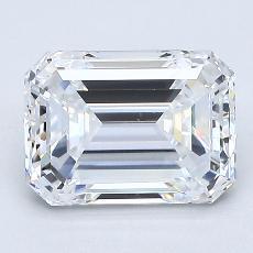 Recommended Stone #2: 2.08-Carat Emerald Cut Diamond