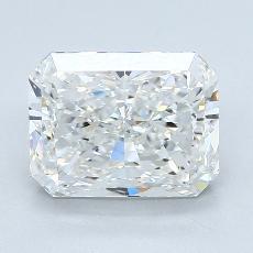3.02-Carat Radiant Diamond Very Good F VS2