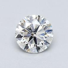Recommended Stone #3: 0,90-Carat Round Cut