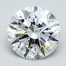 2.01 Carat 圓形 Diamond 理想 G VVS1