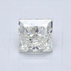 1.01 Carat Princesa Diamond Muy buena J VVS1